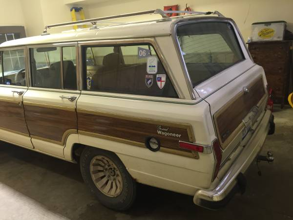 1986 Jeep Grand Wagoneer V8 Auto For Sale in Higgins Lake ...