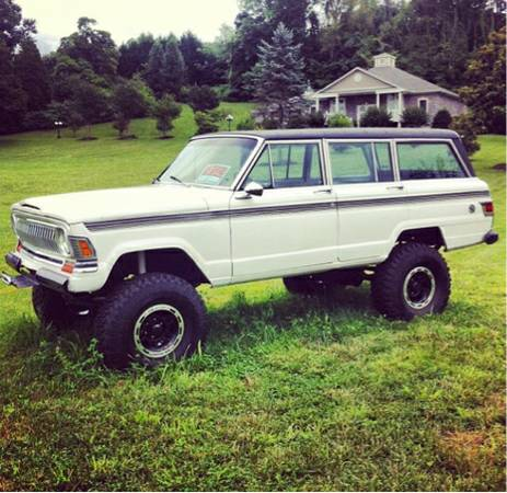 1973 Jeep Grand Wagoneer Chevy 350 Auto For Sale in Petros ...