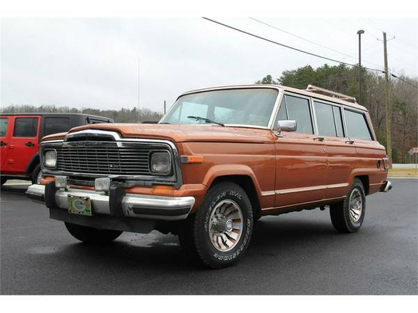 1983 Jeep Grand Wagoneer 5.9L V8 Auto For Sale in ...
