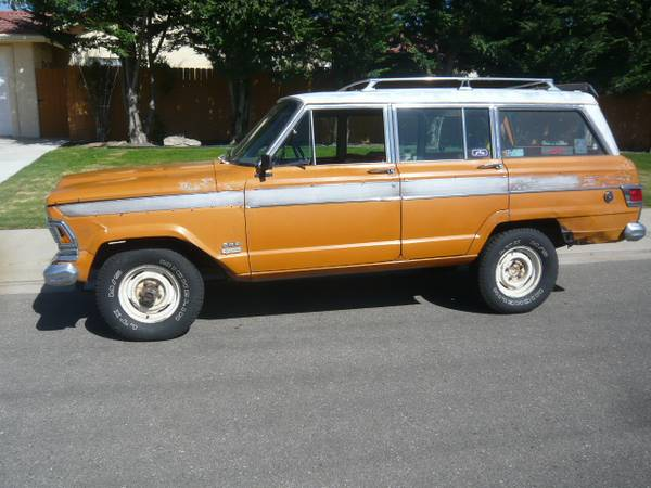 1972 Jeep Wagoneer For Sale Sj Usa Classifieds