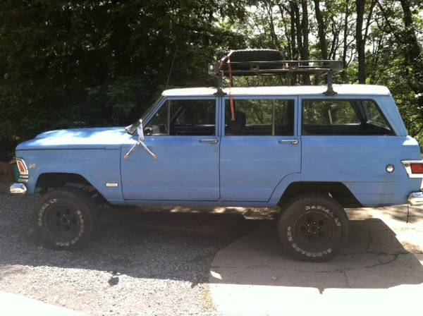 1972 Jeep Grand Wagoneer Automatic For Sale in Sacramento ...