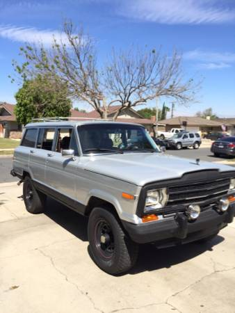 1989 Jeep Grand Wagoneer V8 Auto For Sale in San Diego ...
