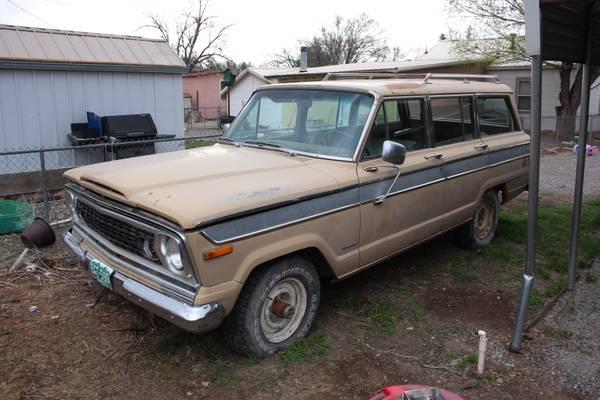1975 jeep wagoneer for sale sj usa classifieds craigslist ebay ads. Black Bedroom Furniture Sets. Home Design Ideas