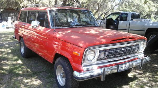 1978 Jeep Grand Wagoneer V8 Auto For Sale in Pine Valley ...
