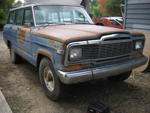 1979 jeep grand wagoneer 401 v8 auto for sale in littleton colorado. Black Bedroom Furniture Sets. Home Design Ideas