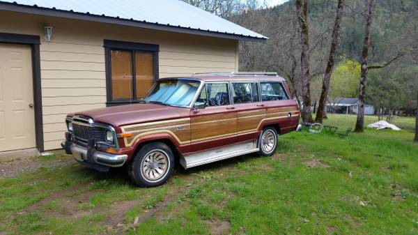 Jeeps For Sale In Md >> 1985 Jeep Grand Wagoneer V8 Auto For Sale in Los Angeles, California