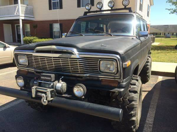 1985 jeep grand wagoneer 360 v8 auto for sale in macon georgia. Black Bedroom Furniture Sets. Home Design Ideas