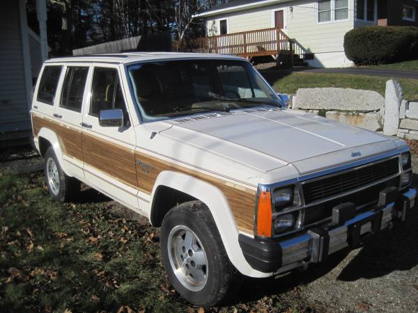 1987 jeep grand wagoneer v6 auto for sale in bucksport maine. Black Bedroom Furniture Sets. Home Design Ideas