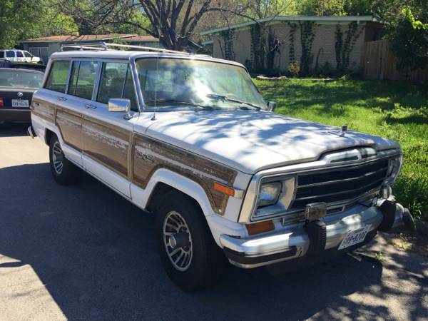 1990 jeep grand wagoneer auto for sale in austin texas. Black Bedroom Furniture Sets. Home Design Ideas