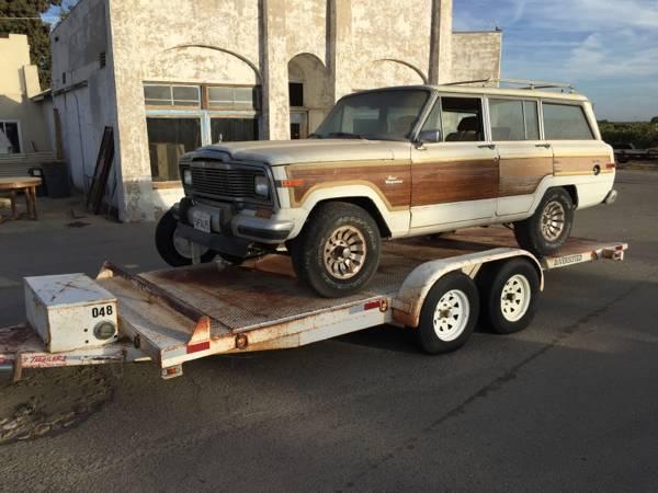 1986 Jeep Grand Wagoneer V8 Auto For Sale in Santa Clarita ...
