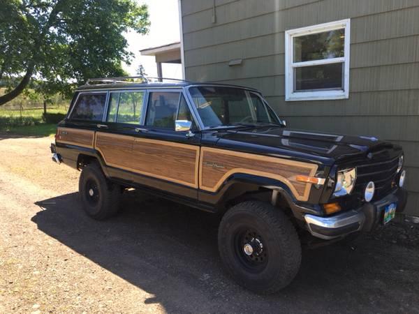 Jeep wagoneer craigslist