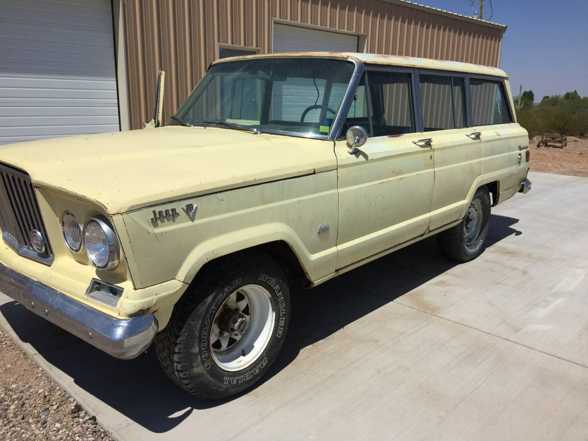 1966 jeep grand wagoneer 327 v8 automatic for sale in tucson arizona. Black Bedroom Furniture Sets. Home Design Ideas