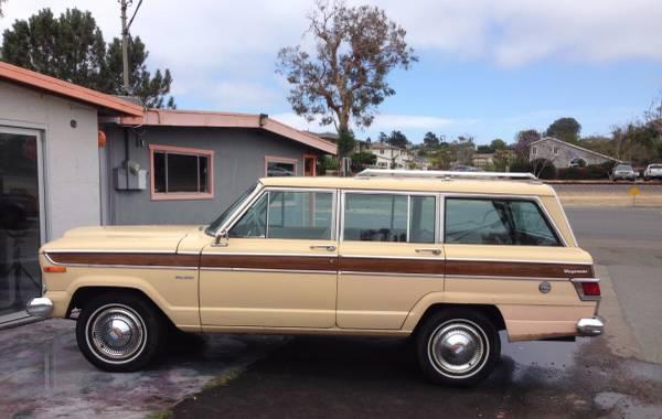 1978 jeep wagoneer for sale sj usa classifieds craigslist ebay ads. Black Bedroom Furniture Sets. Home Design Ideas