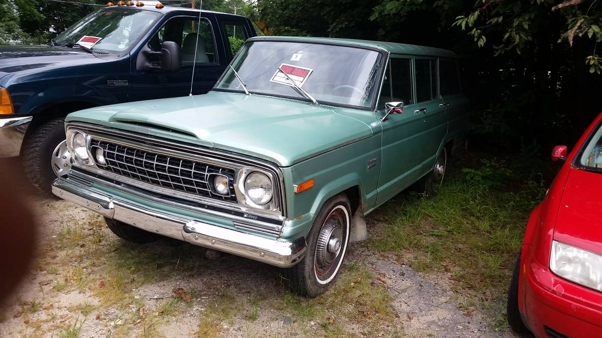 1974 jeep grand wagoneer v8 auto for sale in center ossipee new hampshire. Black Bedroom Furniture Sets. Home Design Ideas