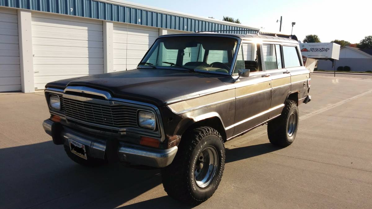 1980 Jeep Grand Wagoneer Automatic For Sale in San Diego ...