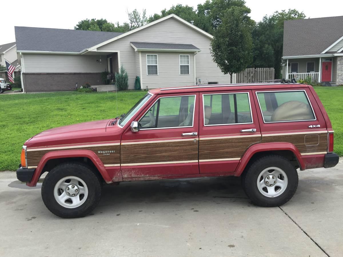 1988 jeep grand wagoneer v6 automatic for sale in hiawatha kansas. Black Bedroom Furniture Sets. Home Design Ideas
