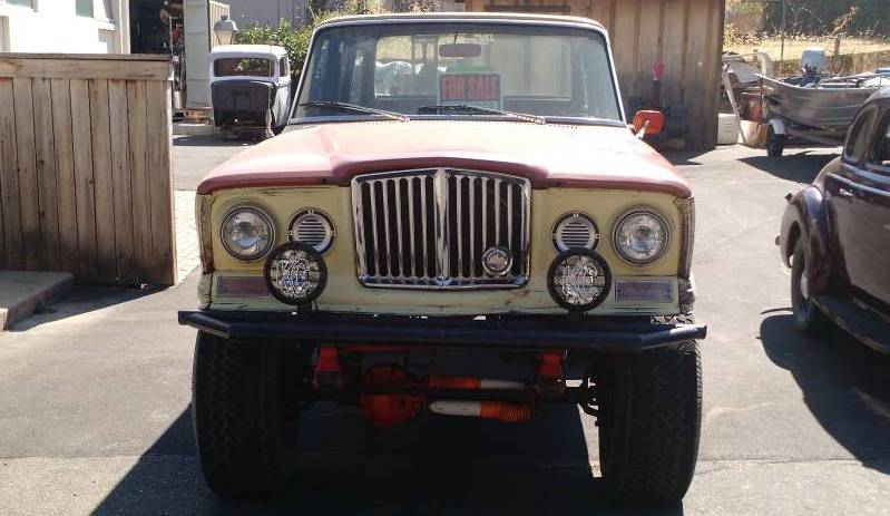 1966 jeep wagoneer buick 350 440 auto for sale in humboldt county ca. Black Bedroom Furniture Sets. Home Design Ideas