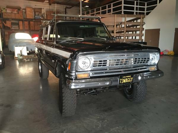1973 Jeep Wagoneer AMC 360 V8 w/ TH400 For Sale in Santa ...