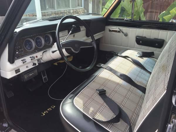 1973 Jeep Wagoneer Amc 360 V8 W Th400 For Sale In Santa