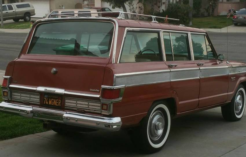 1974 Jeep Wagoneer Quadra Trac 4X4 For Sale in Oceanside ...