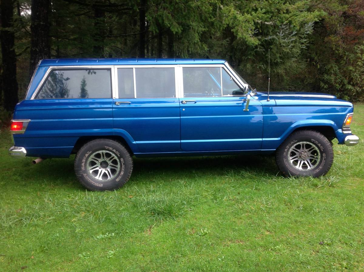 1972 Jeep Wagoneer 4X4 360 V8 Auto For Sale at the Oregon ...