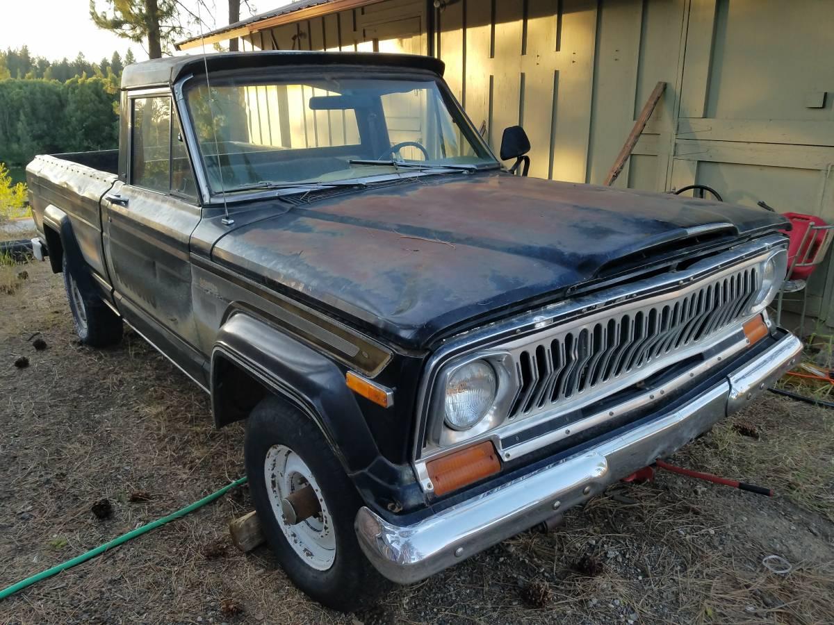 1976 Jeep Wagoneer J10 Honcho For Sale In North Spokane Washington