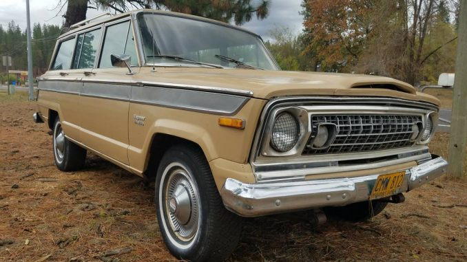 jeep wagoneer for sale in spokane sj usa classified ads. Black Bedroom Furniture Sets. Home Design Ideas