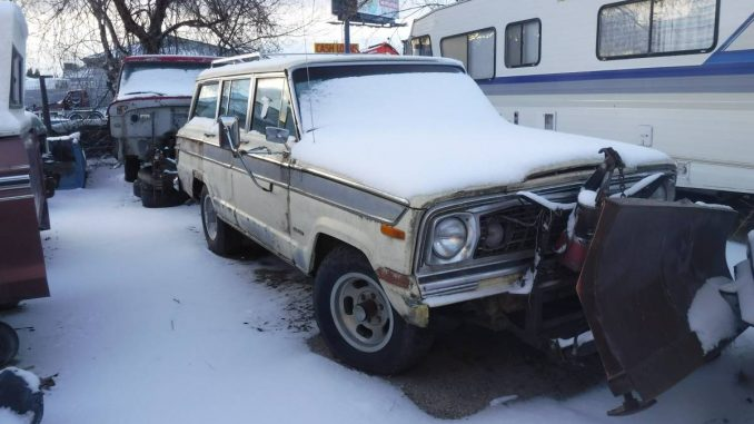 1977 Jeep Wagoneer 401 V8 w/ Snow Plow For Sale in Nampa ...