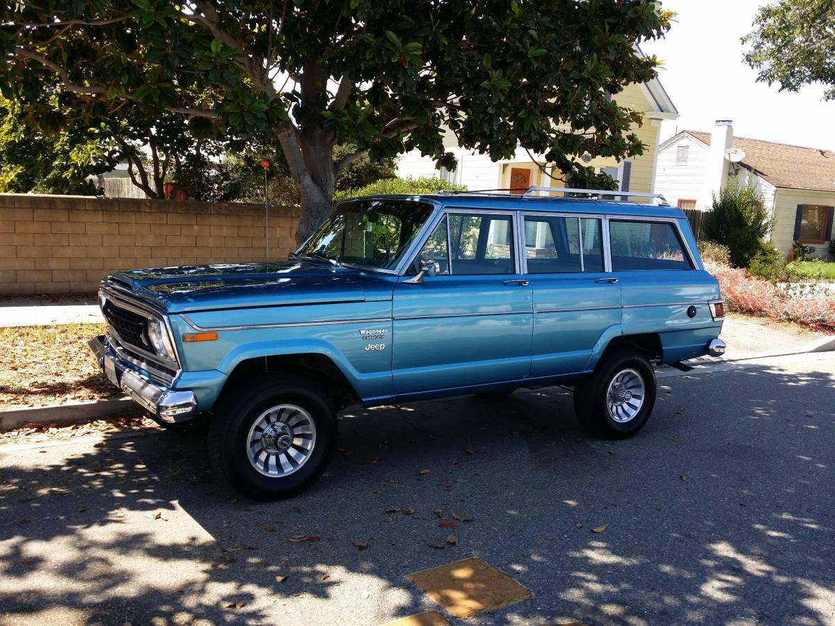 2018 Jeep Grand Wagoneer >> 1978 Jeep Wagoneer Quadratrac 4X4 For Sale in Lompoc, CA - $8,500