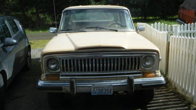 1980 Jeep Wagoneer Limited AMC 360 For Sale in Pe Ell