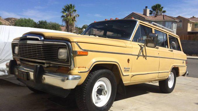1981 jeep wagoneer for sale sj usa classifieds craigslist ebay ads. Black Bedroom Furniture Sets. Home Design Ideas