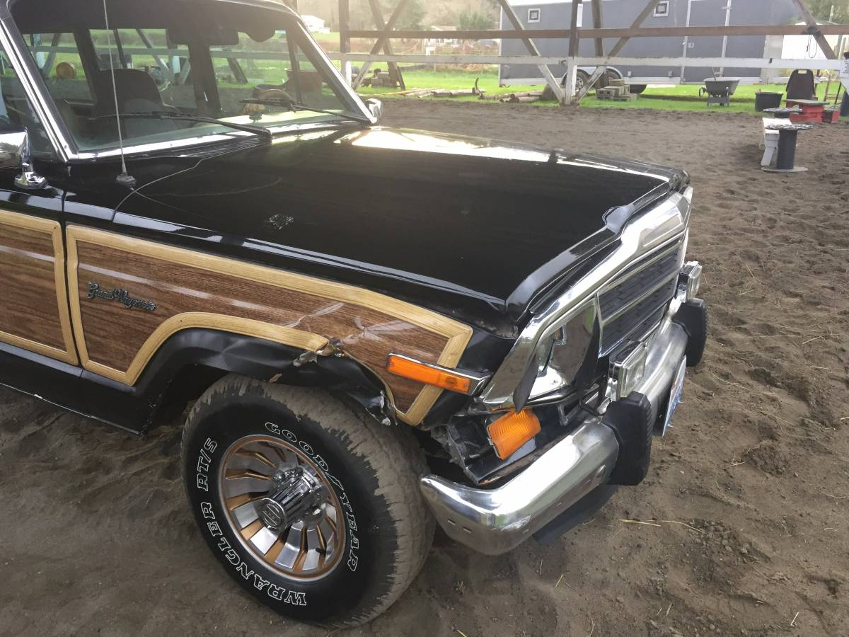 1987 Jeep Grand Wagoneer For Sale in Whidbey Island ...