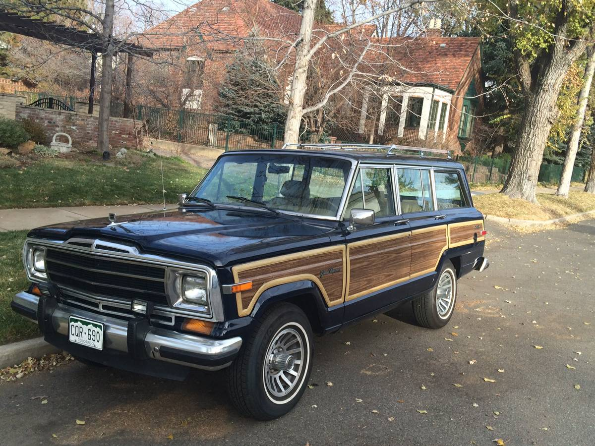 1988 jeep grand wagoneer for sale in denver colorado 12 5k. Black Bedroom Furniture Sets. Home Design Ideas