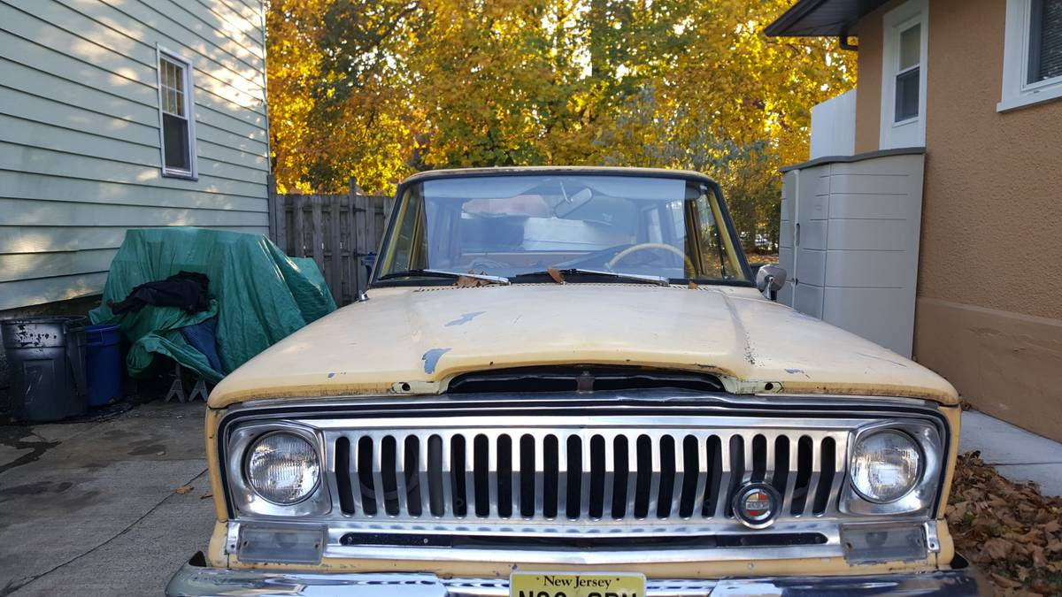 1969 Jeep Wagoneer 4x4 W Buick 350 For Sale In North Jersey 4 500