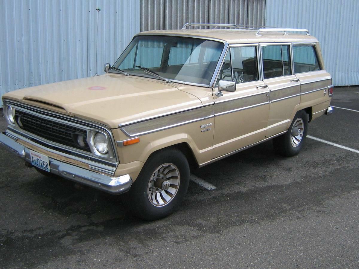 1976 Jeep Wagoneer Quadratrac AMC 360 4WD For Sale in ...