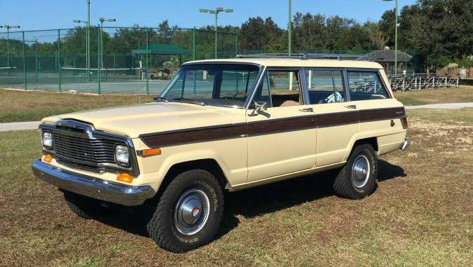 1979 jeep grand wagoneer for sale in sarasota florida 24 999. Black Bedroom Furniture Sets. Home Design Ideas