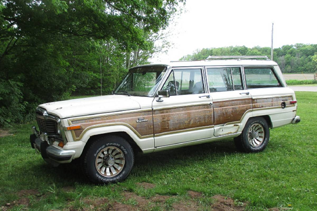 1985 jeep grand wagoneer 360 auto 4x4 for sale in alemna. Black Bedroom Furniture Sets. Home Design Ideas