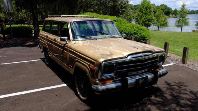 1990 jeep grand wagoneer automatic for sale in orlando florida 7k. Black Bedroom Furniture Sets. Home Design Ideas