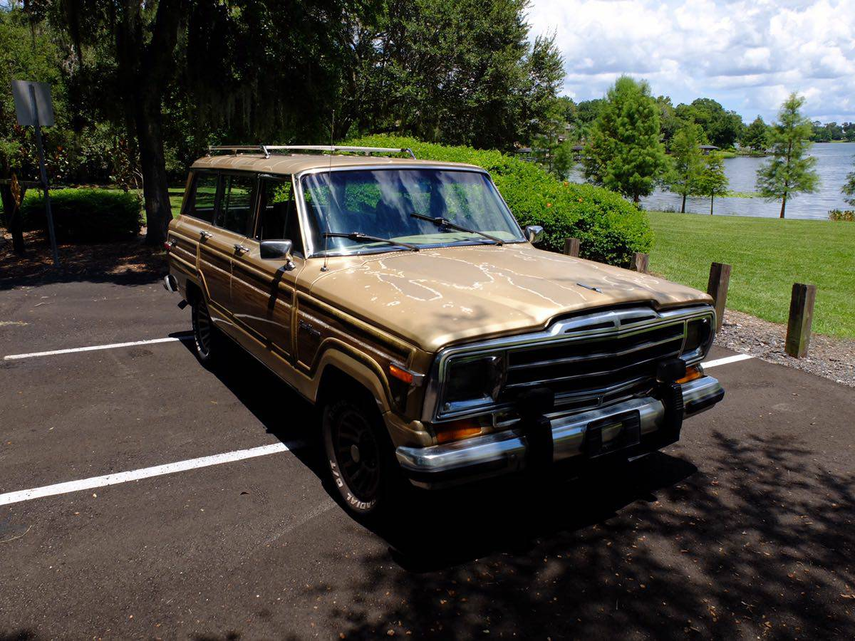 1990 Jeep Grand Wagoneer Automatic For Sale In Orlando Florida 7k