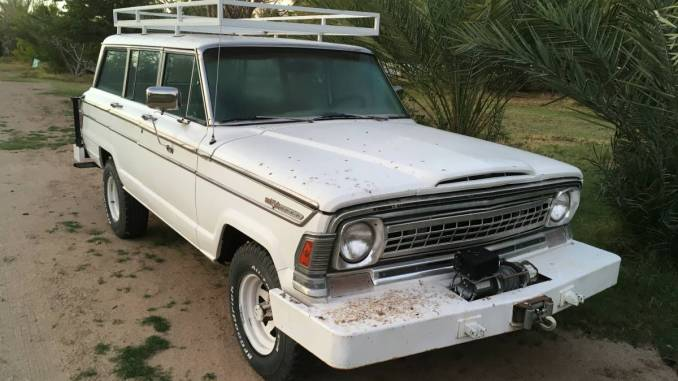 1973 Jeep Wagoneer w/ Chevy 350 V8 For Sale in Yuma, AZ - $5K
