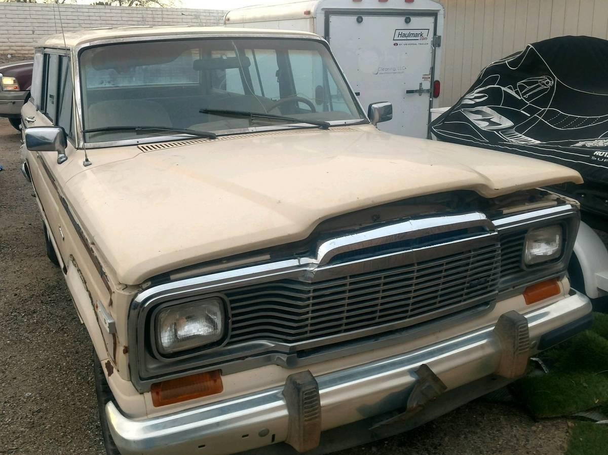 1983 jeep grand wagoneer amc 360 for sale in peoria arizona 2 200. Black Bedroom Furniture Sets. Home Design Ideas