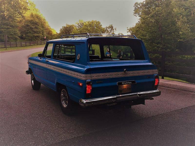 1975 Restored Jeep Wagoneer Cherokee S For Sale In