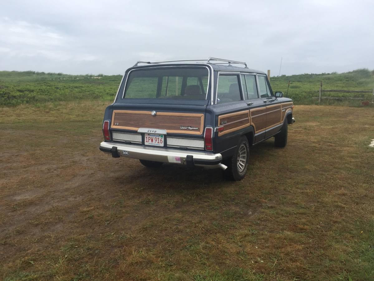 Craigslist Utah Provo >> 1988 Jeep Grand Wagoneer Blue w/ Wood Panelling For Sale