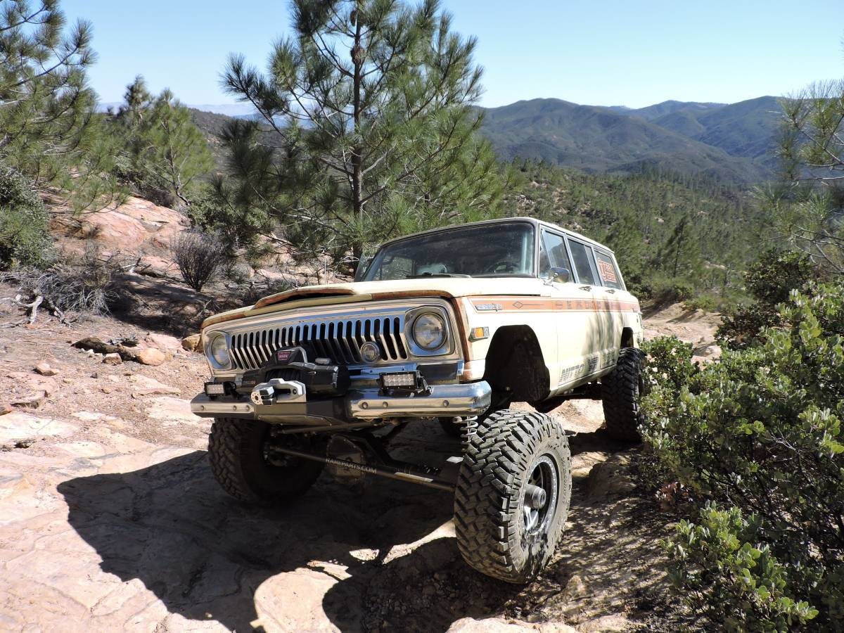 1969 Jeep Wagoneer V8 6spd For Sale In Flagstaff Arizona