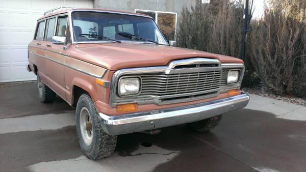 Craigslist Idaho Falls >> 1980 Jeep Grand Wagoneer 360 V8 For Sale in Twin Falls, Idaho