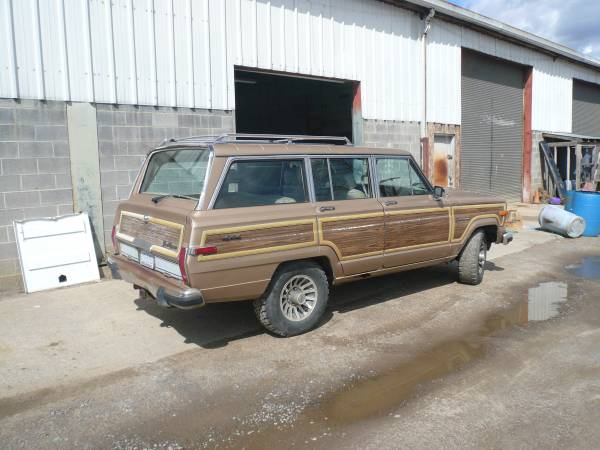 1989 Jeep Grand Wagoneer AMC 360 V8 For Sale in ...