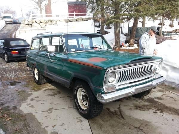 1966 Jeep Grand Wagoneer 8 cylinders For Sale in Clovis ...