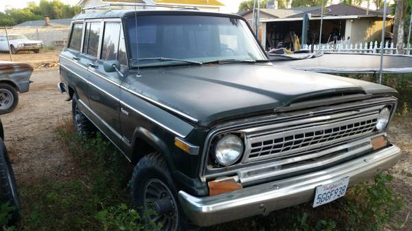 1979 Jeep Grand Wagoneer AMC 360 Auto For Sale in Cody ...