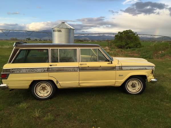 1973 Jeep Grand Wagoneer 360 Auto For Sale in Bozeman, Montana