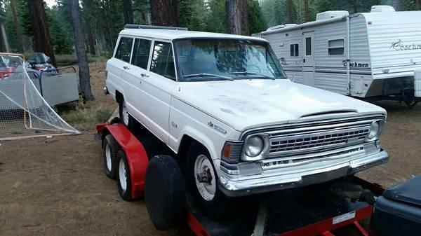1973 Jeep Grand Wagoneer AMC 360 For Sale in Lake Tahoe ...